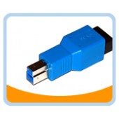 U3-ABFM  USB 3.0 Type A Female  to Type B Male Adapter