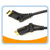 HDMI® High Speed Male to Male Swivel Cable