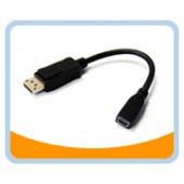 Display Port Male to Mini Display Port Female Cable Adapter
