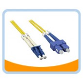 SD-LS   LC to SC Duplex (2 Strand) Cable, Single Mode 9/125 Standard Zipcore