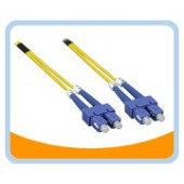 SD-SS  SC to SC Duplex (2 Strand) Cable, Single Mode 9/125 Standard Zipcore