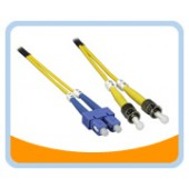 SD-SST  SC to ST Duplex (2 Strand) Cable, Single Mode 9/125 Standard Zipcore